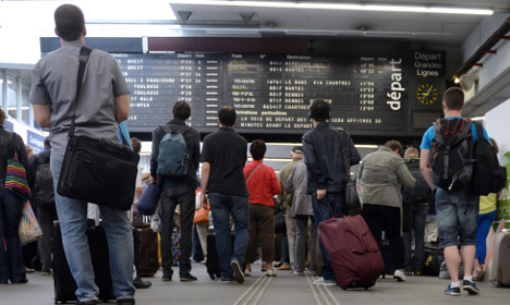 Chaos ahead as French rail unions call one-day strike