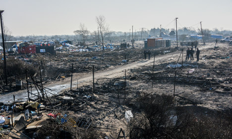 Part of Calais camp cleared but where are the refugees?