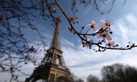 Gorgeous pics to prove spring has finally sprung in France