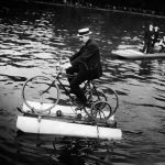 """Water Velib's. This is an idea the Mayor of Paris should look into. If it worked back in 1910, then why not today? Buy this image by clicking here: <a href=""""http://www.parisenimages.fr/en/collections-gallery?recherche=77732-27&amp;debut=&amp;fin=&amp;submit=OK"""">www.parisenimages.fr/en</a>"""