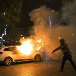 Twelve arrested after clashes at Paris youth protest