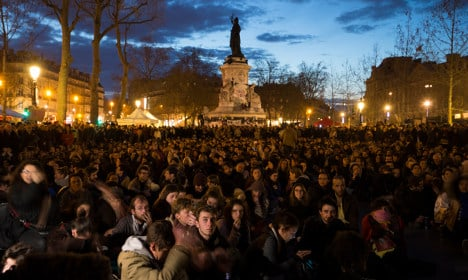 France: Nocturnal protests 'to change the world' gather force