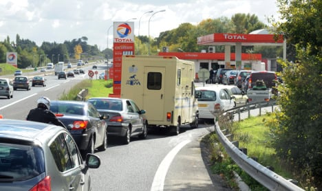 How the fuel crisis is harming the French economy