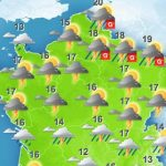 Northern France on high alert for storms this afternoon
