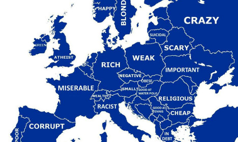 What Google says about the French (and other Europeans)