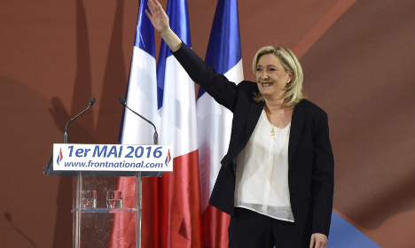 French far-right family feud exposed at May Day rallies