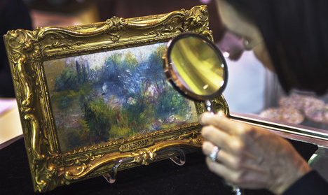 French mechanic finds 'long-lost Renoir' online for €700