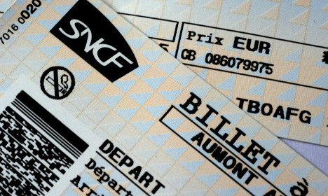 French rail passengers must now pay for ticket changes