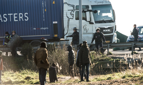 Afghan migrant killed by lorry in Calais