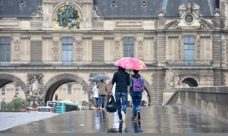 Warnings for downpours and floods spread across France