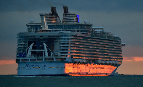 World's biggest cruise ship to finally bid farewell to France