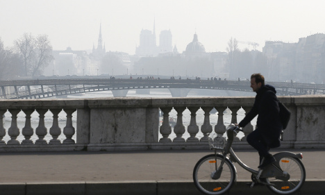 Where are the most polluted cities in France?