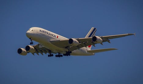 Unresponsive Air France jet escorted down in UK