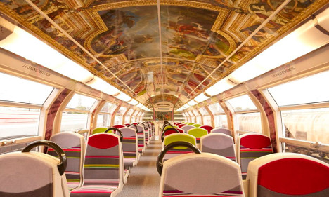 IN PICS: Commuter trains in Paris get royal makeover