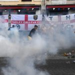 England fans revive old habits as trouble erupts