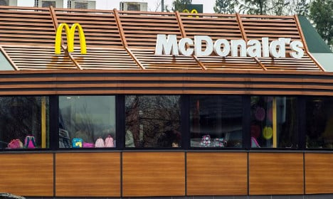 French special forces down Big Macs to foil McDo heist