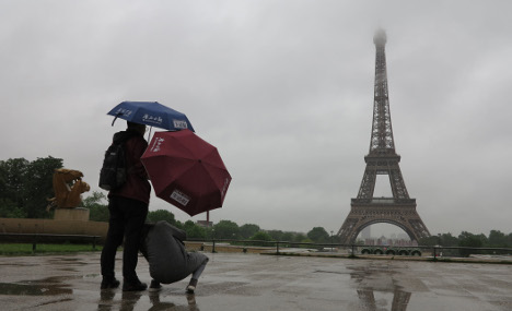 Paris has wettest spring in 100 years and it's hitting morale