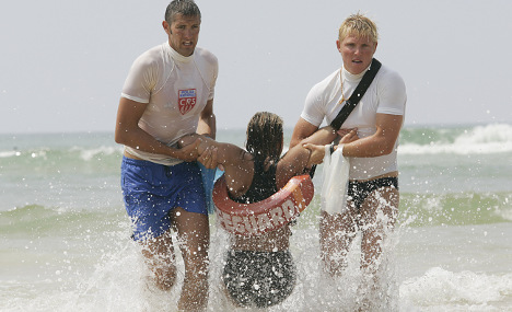 French police lifeguards get guns for summer beach patrol