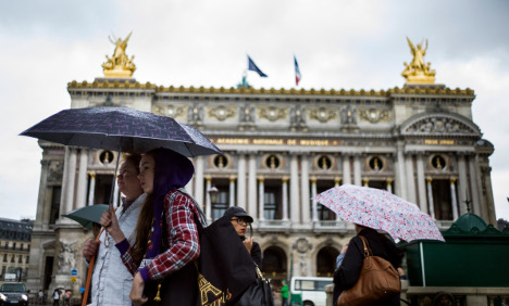 It's official: Paris drenched by wettest spring in 150 years