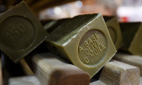 French soap-makers in a lather over recipe