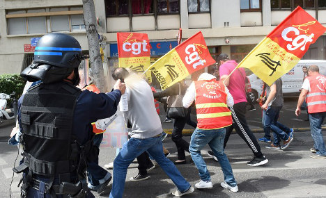 France facing another week of strikes and protests