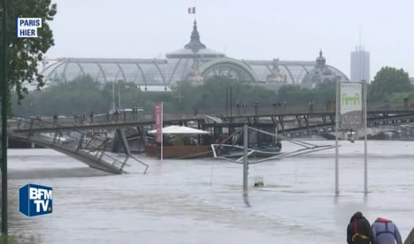 Flooded River Seine in Paris tops 6m mark (and it's rising)
