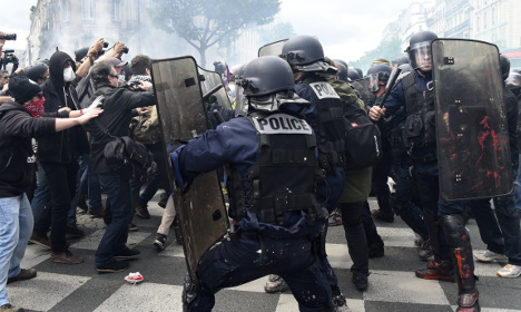 Paris and 2,000 police braced for new labour reforms protest