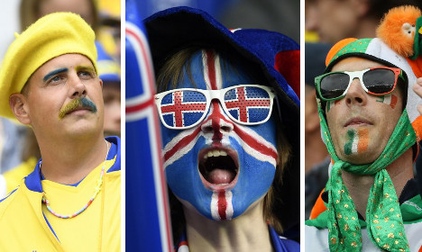 And the best football fans of Euro 2016 in France are?