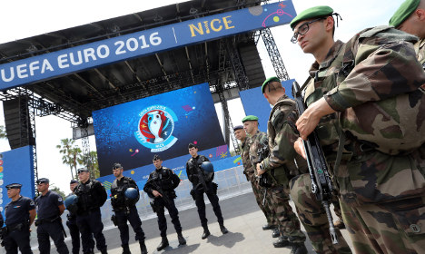 French youths spark trouble with Northern Ireland fans