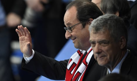 French leader unlikely to gain from successful Euro 2016