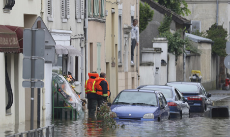 Eyes on Paris but other areas bear brunt of floods in France