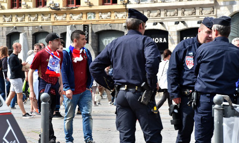 Paris and Moscow in spat over detention of Russian fans