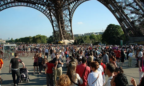 Eiffel Tower closes as workers join latest strike