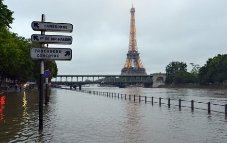 IN PICS: See how high the River Seine has risen in Paris