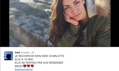 Nice attack: Families of missing make pleas on Twitter