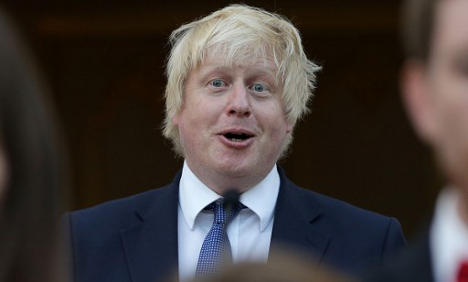 Boris Johnson cheered and booed at French Bastille party