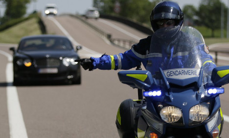 French drivers 'getting faster and paying less attention'