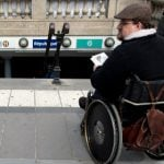 Paris: an obstacle course for wheelchair users