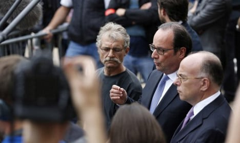 Isis claims priest's killing as Hollande vows all-out war