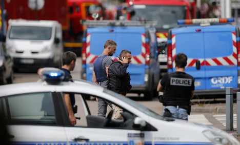 Priest slain in 'terror attack' on church in northern France