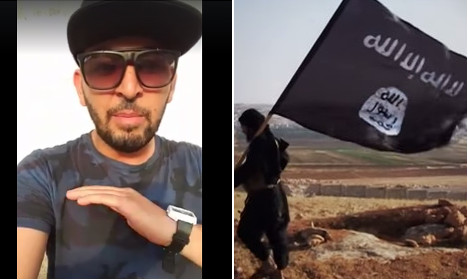 Angry Marseille Muslim ends up in war of words with Isis