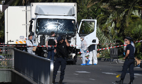 Isis claims responsibility for Nice attack