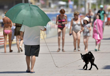 IN PICTURES: France swelters through heatwave