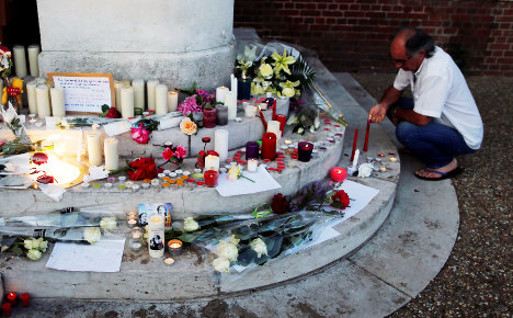 How was 'ticking time bomb' free to attack French church?