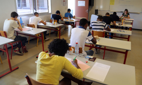 French exam markers asked to snoop on 'radical pupils'