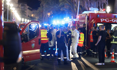 Truck attack in Nice leaves at least 84 dead on Bastille Day