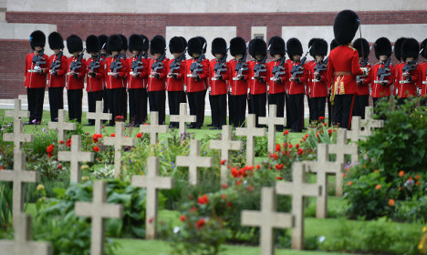 Britain and France mark 100 years since Battle of Somme