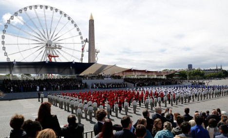 IN PICTURES: France's Bastille Day military parade