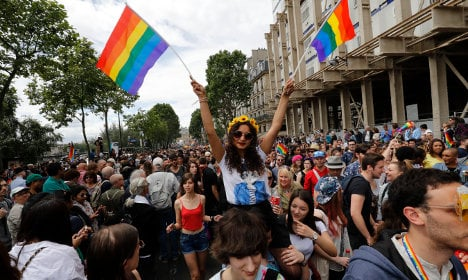 Gay Pride march sparks French far-right row