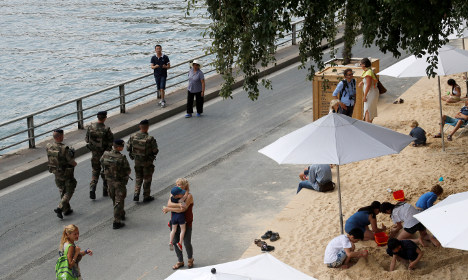 Attacks take toll on French tourism